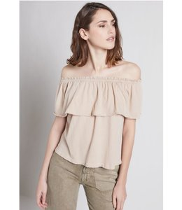 Current Elliott The Ruffle Top