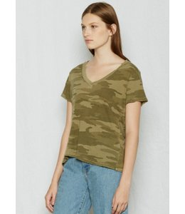 Current Elliott The Army Camo V-neck