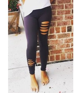 Able USA Slit Carbon Legging