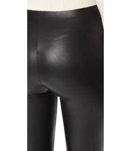 commando Black Leather Control Leggings