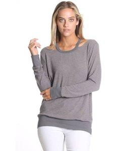 Able USA Grey Lamb-soft Sweater
