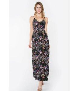 Flowered Emery Maxi Dress