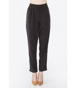 Black Lima Drawstring Pants