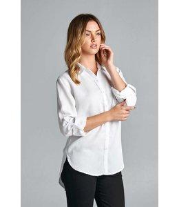 Sneak Peek White Classic LS Shirt