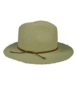 Hat Attack Ivory Fringed Packable Rancher Hat