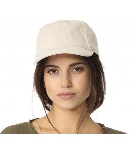 Hat Attack Natural Linen Baseball Cap