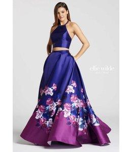 Ellie Wilde by Mon Cheri Royal Flowers 2 piece Gown