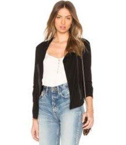 Bobi Black Collar Jacket