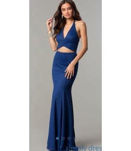 Allie Blu Two piece v-neck halter dress