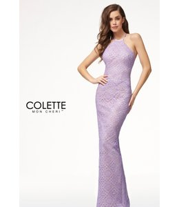 Colette by Mon Cherie Boho Chic Sexy Open Back Formal Dress