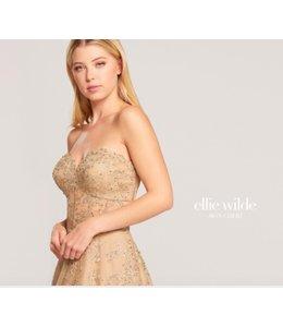 Ellie Wilde by Mon Cheri Strapless Sweatheart