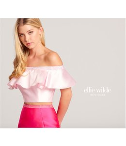 Ellie Wilde by Mon Cheri Two-piece off the shoulder with trumphet skirt EW118162