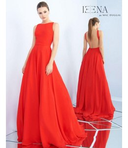 MacDuggal Red Ball Gown 55192