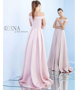 MacDuggal Blush Off the Shoulder Gown 25669