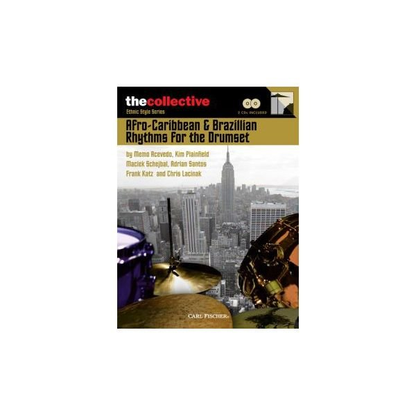 Hal Leonard Afro-Caribbean & Brazilian Rhythms for the Drums; Book & CD