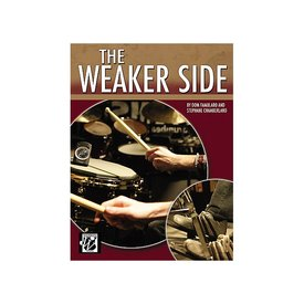 Alfred Publishing The Weaker Side by Dom Famularo; Book