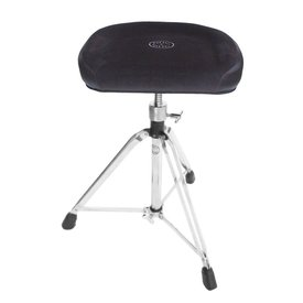 Roc-N-Soc Manual Spindle Square Top Throne - Black