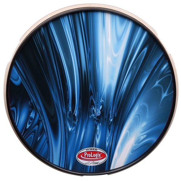 "ProLogix Blue Lightning 6"" Double Sided Practice Pad"