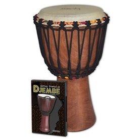 Hal Leonard Tycoon Djembe Pack: Includes TAJ-8 Djembe and Hudson_Ñés Getting Started On Djembe DVD