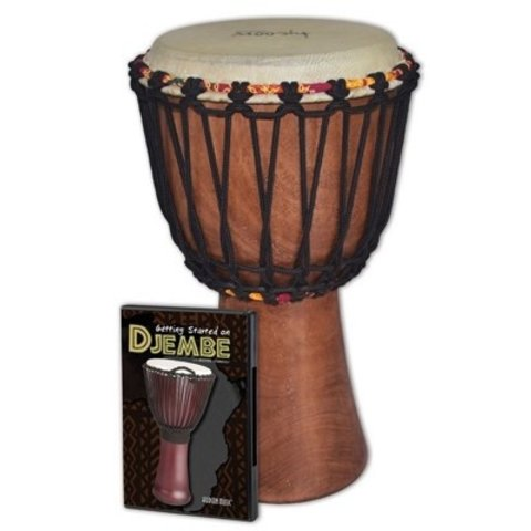 Tycoon Djembe Pack: Includes TAJ-8 Djembe and Hudson_Ñés Getting Started On Djembe DVD