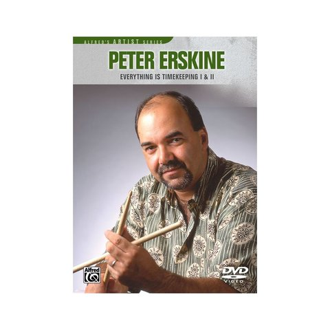 Peter Erskine: Everything Is Timekeeping DVD
