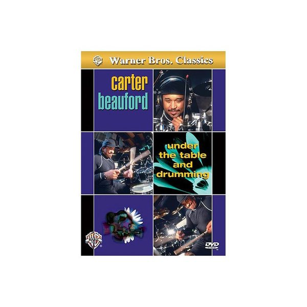 Alfred Publishing Carter Beauford: Under the Table and Drumming DVD