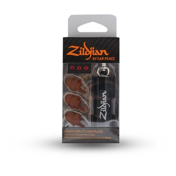 Zildjian Zildjian HD Earplugs - Dark