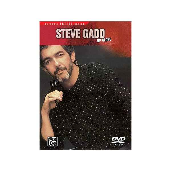 Alfred Publishing Steve Gadd: Up Close DVD