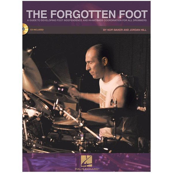Hal Leonard The Forgotten Foot by Jordan Hill and Kofi Baker; Book & CD
