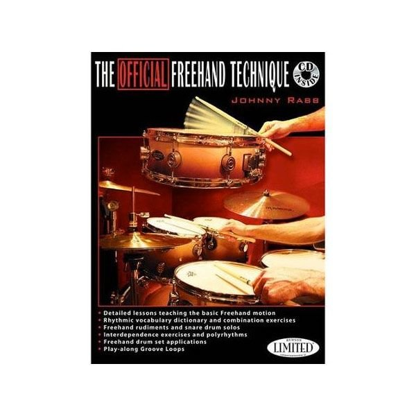 Hal Leonard The Official Freehand Technique by Johnny Rabb; Book & CD