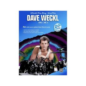 Alfred Publishing Ultimate Play-Along Drum Trax: Dave Weckl, Level 1, Volume 2; Book & 2 CDs