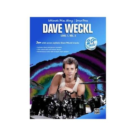 Ultimate Play-Along Drum Trax: Dave Weckl, Level 1, Volume 2; Book & 2 CDs