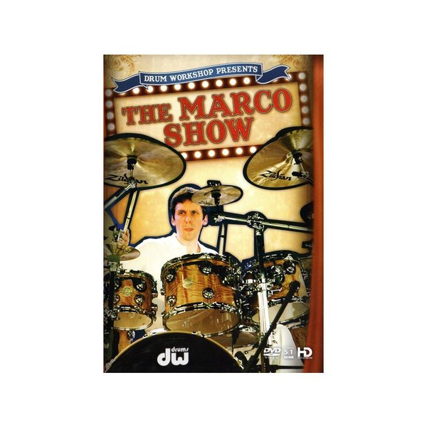 Alfred Publishing Marco Minnemann: The Marco Show DVD