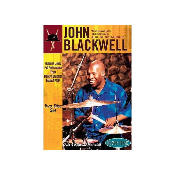 Hal Leonard John Blackwell: Technique, Grooving and Showmanship DVD Set
