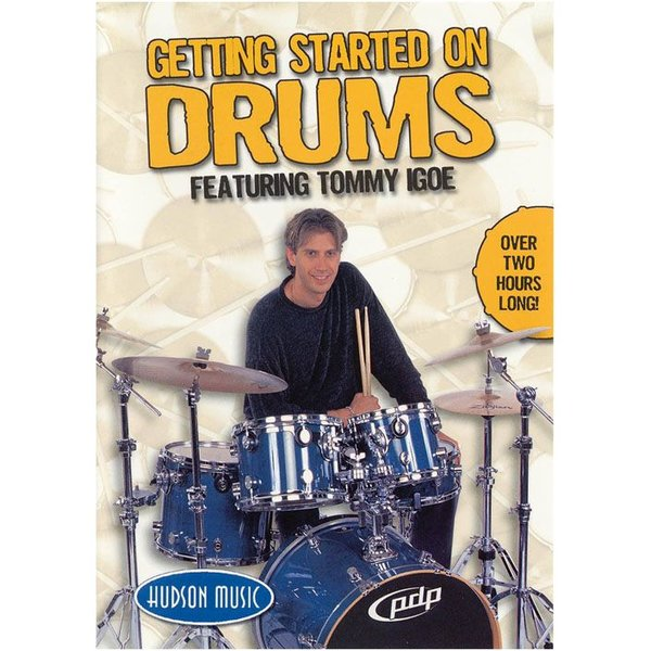 Hudson Music Tommy Igoe: Getting Started on Drums DVD