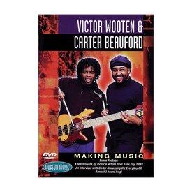 Hal Leonard Victor Wooten & Carter Beauford: Making Music DVD