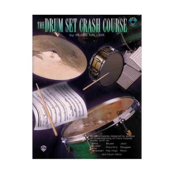 Alfred Publishing Drum Set Crash Course by Russ Miller; Book & CD