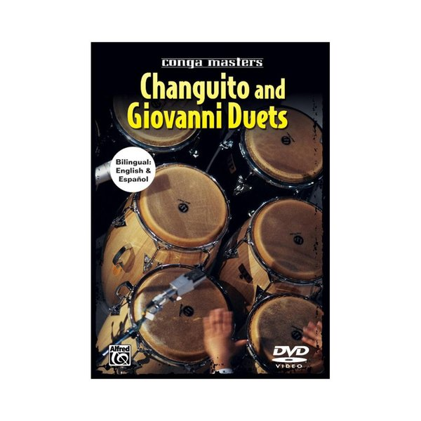 Alfred Publishing Changuito and Giovanni Hidalgo: Duets DVD