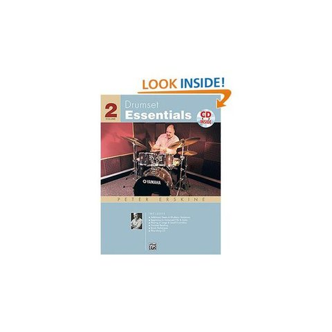 Drumset Essentials Vol. 2 by Peter Erskine; Book & CD