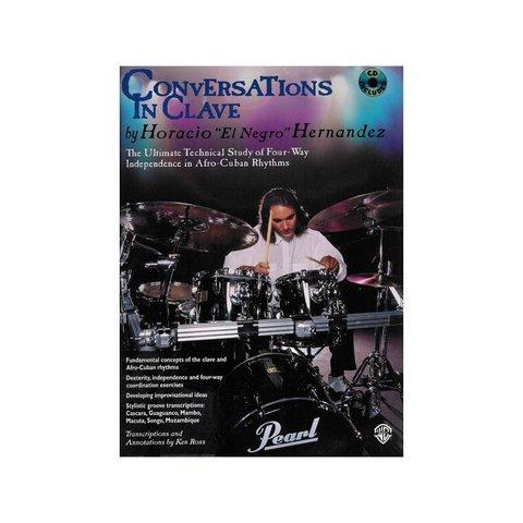 """Conversations In Clave by Horacio """"El Negro"""" Hernandez; Book & CD"""