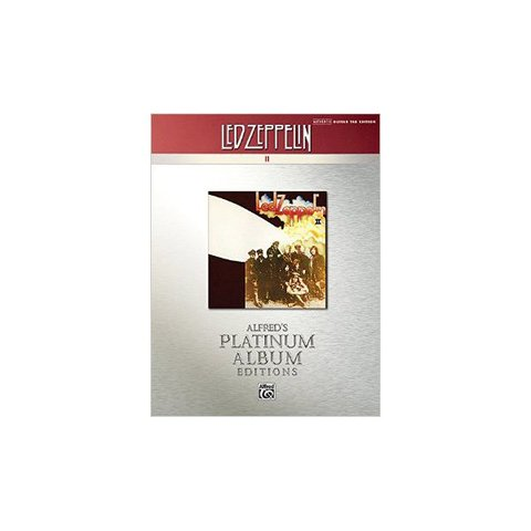 Alfred's Platinum Album Editions: Led Zeppelin II; Book