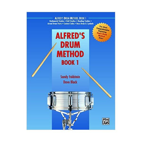 Alfred Publishing Alfred's Drum Method Book 1 By Sandy Feldstein and Dave Black; Book