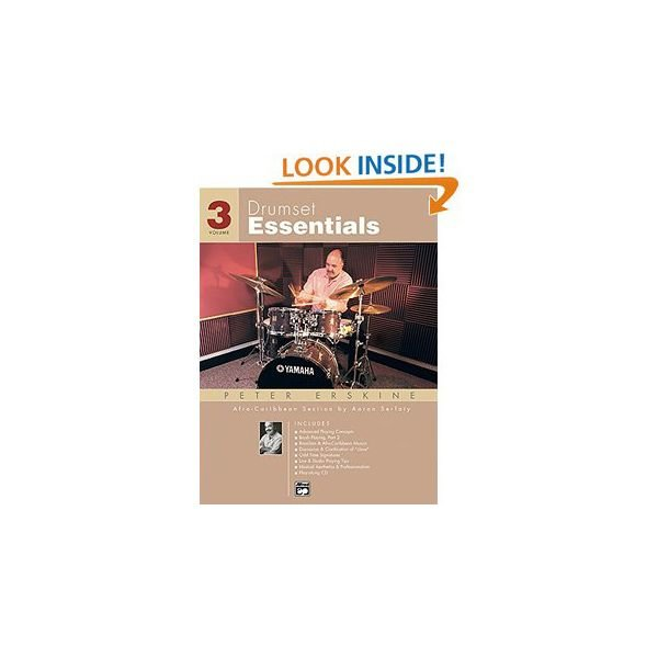 Alfred Publishing Drumset Essentials Vol. 3 by Peter Erskine; Book & CD