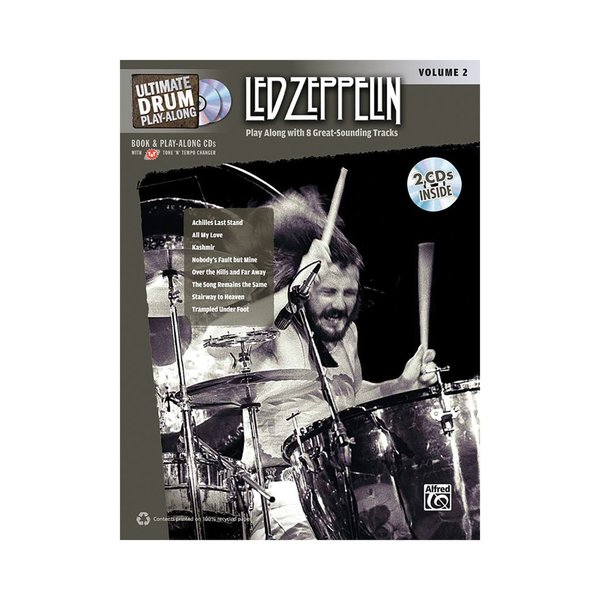Alfred Publishing Ultimate Play-Along: Led Zeppelin Vol. 2; Book & 2 CDs