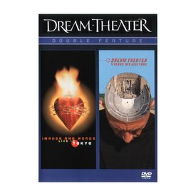 Vic's Drum Shop Dream Theater Double Feature: Images And Words Live & 5 Years In A LIVEtime DVD