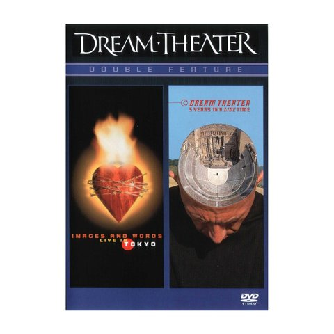 Dream Theater Double Feature: Images And Words Live & 5 Years In A LIVEtime DVD