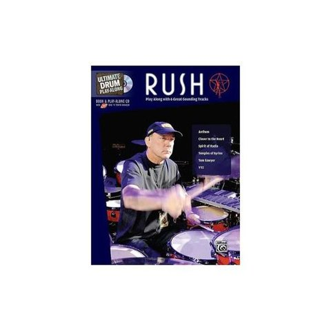 Ultimate Drum Play-Along: Rush; Book and CD