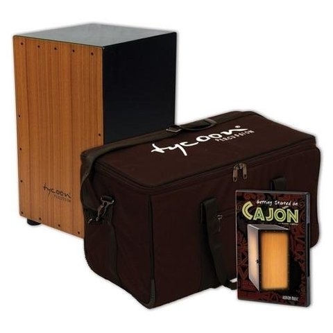 Tycoon Cajon Pack: Includes Supremo Cajon, Gig Bag and Hudson_Ñés Getting Started On Cajon DVD