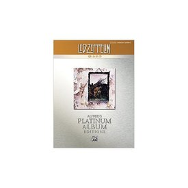 Alfred Publishing Alfred's Platinum Album Editions: Led Zeppelin IV; Book