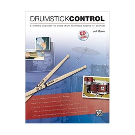 Alfred Publishing Drumstick Control by Jeff Moore; Book & CD